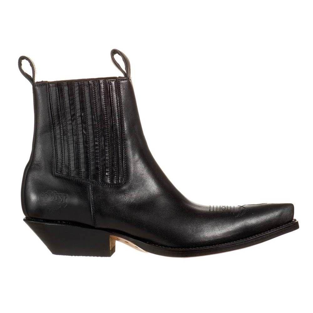 go west louis noir boots country homme. Black Bedroom Furniture Sets. Home Design Ideas