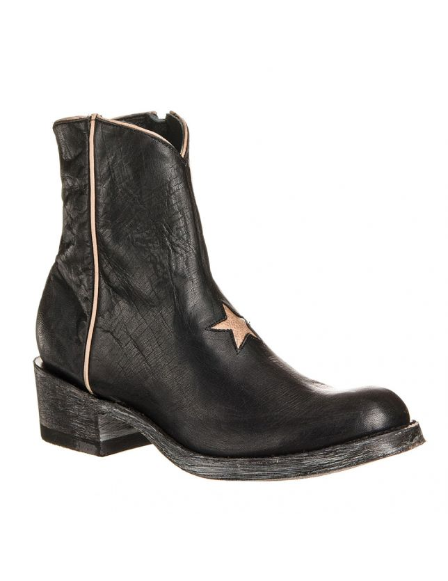 MEXICANA STAR BLACK/BONE