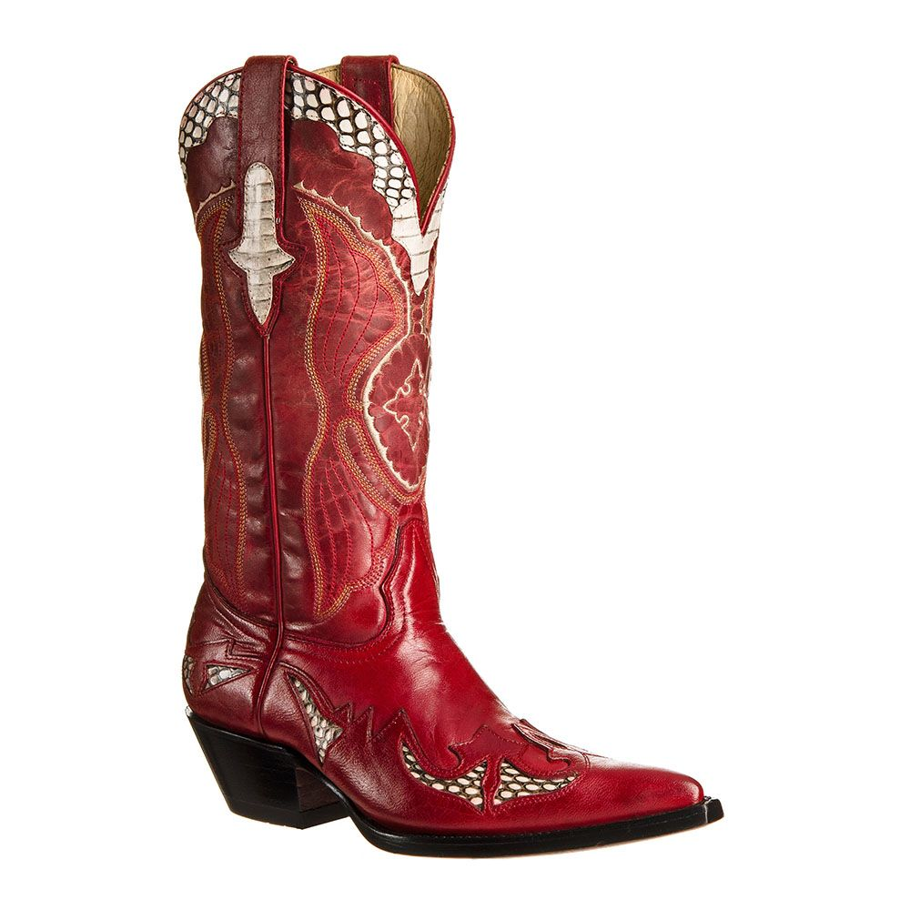 Go west new riporto- red - santiag femme - bottes country