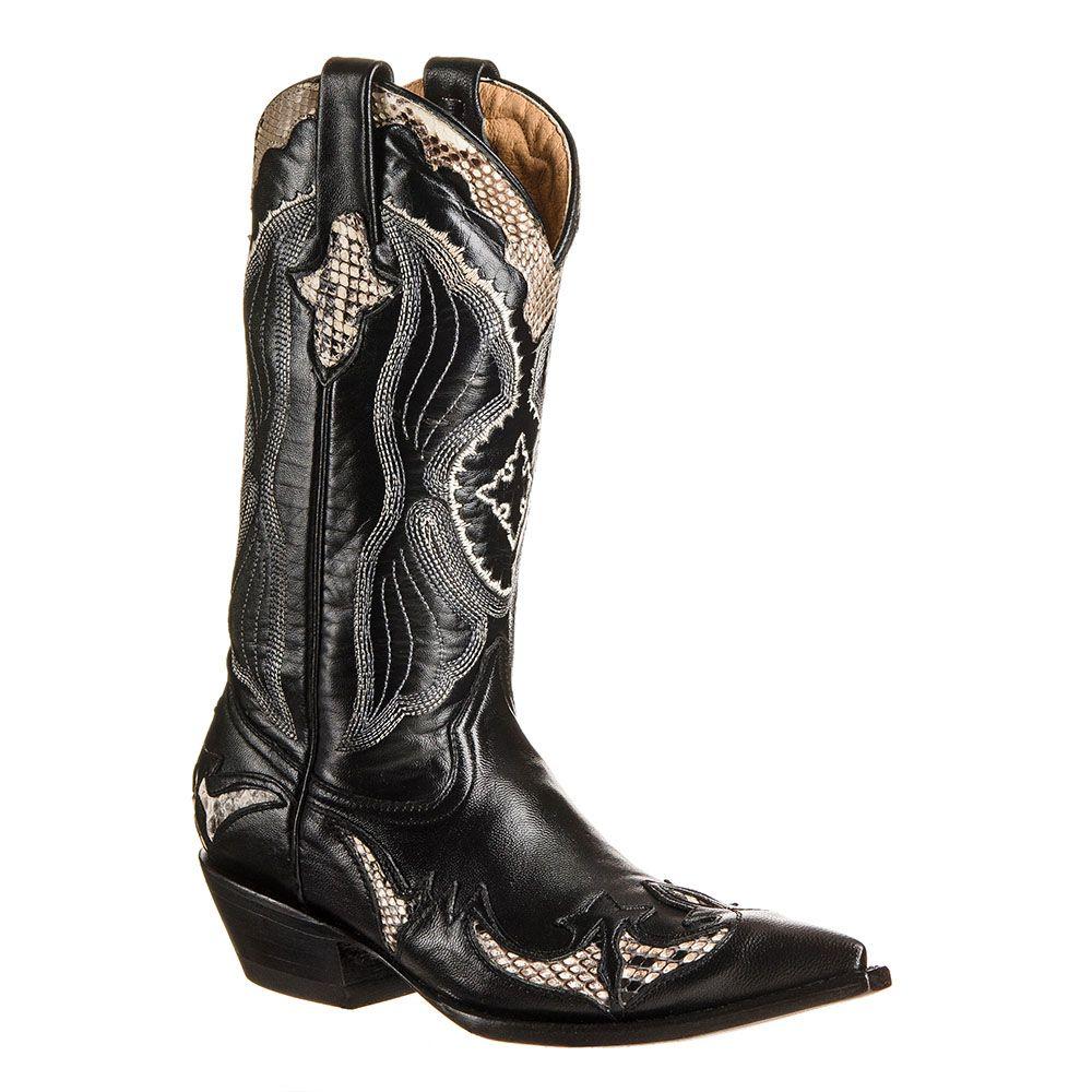 Go west riporto python bk - bottes country femme - santiag femme