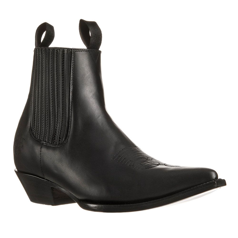 Go west louis noir - boots country homme