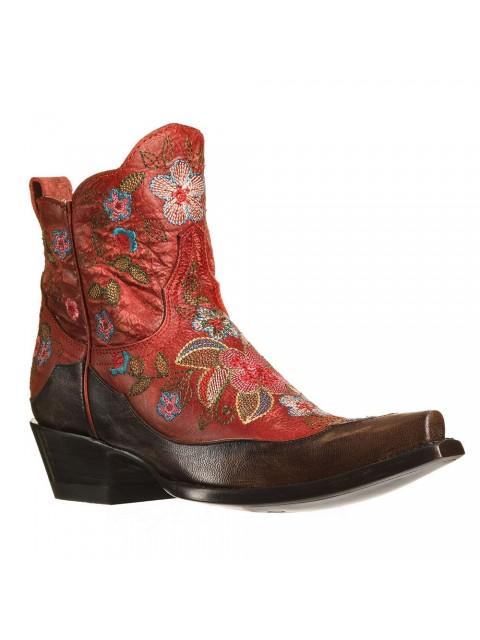 artisanat de qualité modèles à la mode le plus en vogue Boots santiag femme, bottines western femme - Nuage Rouge