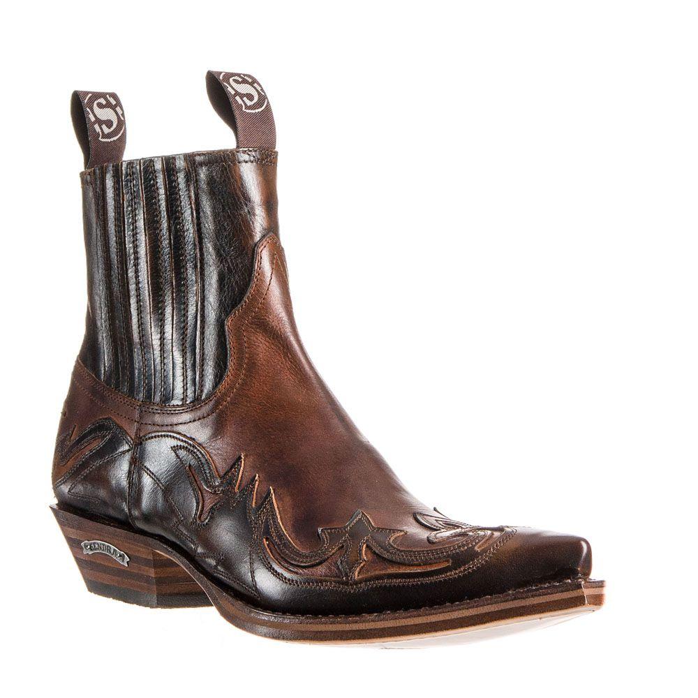 sendra 4660 britnes flo boots country homme santiag basse. Black Bedroom Furniture Sets. Home Design Ideas