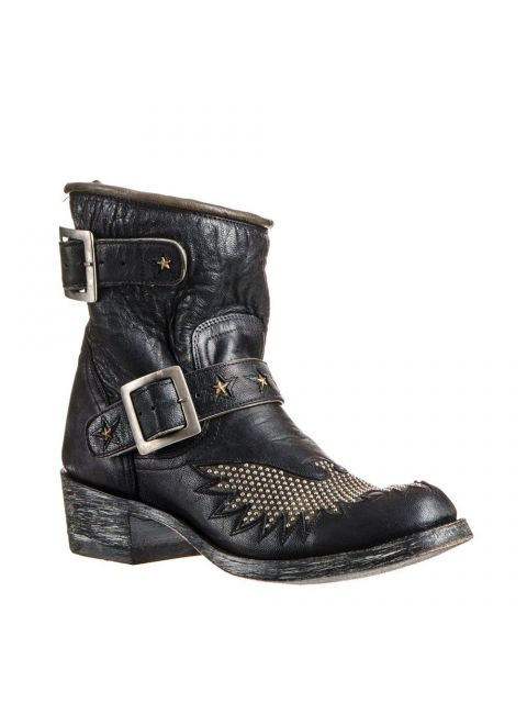 MEXICANA BIKER IRON EAGLE BLACK
